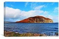 Davaar Island Campbeltown, Canvas Print