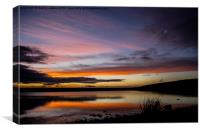 ' Yorkshire Water ', Canvas Print