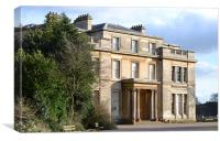 Normanby Hall a classic English mansion, Canvas Print