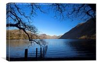 Wastwater Towards Great Gable, Canvas Print