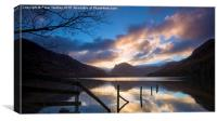 Sunrise Over Fleetwith Pike - Buttermere , Canvas Print