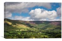 Vale of Edale in Summer, Canvas Print
