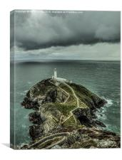 South Stack lighthouse, Anglesey, Canvas Print