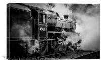 45428 'Eric Treacy' at Grosmont, Canvas Print