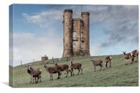Broadway Tower, Broadway, Worcestershire, Canvas Print