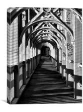 High Level Tunnel, Canvas Print
