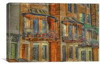 Clifton Terraced Houses, Canvas Print