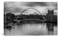 Millennium Bridge Sunrise, Canvas Print