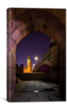 Westminster Arches, Canvas Print