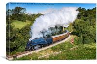 Farewell Sir Nigel Gresley, Canvas Print