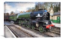 The Tornado Arriving In Pickering Station, Canvas Print