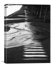 Water and Light, Canvas Print
