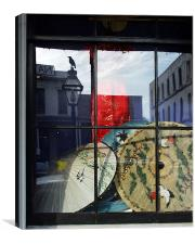 Reflections in a Window, Canvas Print