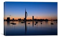 Spinnaker Tower Dawn, Canvas Print