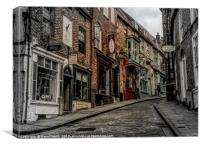 The Steep Hill, Canvas Print