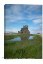 Whitby Abbey, Canvas Print
