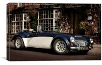 Austin Healey 3000, Canvas Print