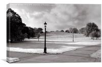 Primrose Hill, Canvas Print