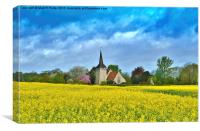 The Colours of Spring, Canvas Print