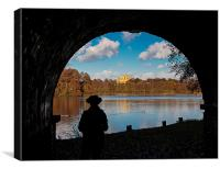 Wollaton Hall, Canvas Print