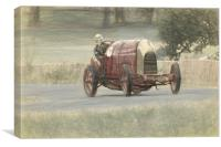 The Beast of Turin FIAT land speed record holder, Canvas Print