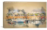 Provincetown Harbour Cape Cod, Canvas Print