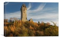 The Wallace Monument, Canvas Print