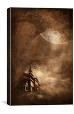 Mystery Mansion, Canvas Print