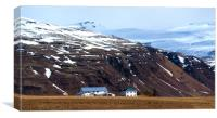 Living in Iceland, Canvas Print