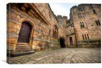 Alnwick Castle, Canvas Print