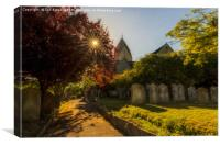 St. Mary's Church, Sompting, Canvas Print