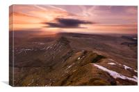 Pen Y Fan, Canvas Print