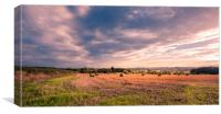 The Beauty of Farming, Canvas Print