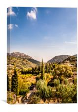 Monastery at Valldemossa View 2....., Canvas Print