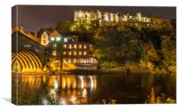 Castle by the Bridge, Canvas Print