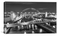 Bridges of the Toon, Canvas Print