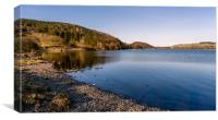 Ullswater in the English lake district, Canvas Print