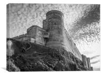 Bamburgh Fortress, Canvas Print