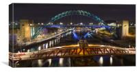 On top of the Toon, Canvas Print