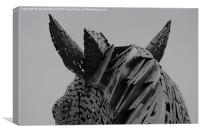 Kelpies Mane , Canvas Print
