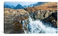 Fairy Pools, Glenbrittle, Isle of Skye, Canvas Print