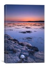 Port Mor sunset, Isle of Colonsay, Canvas Print