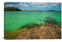 Bostadh beach, Isle of Lewis, Canvas Print