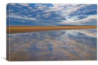 Camber Sands, East Sussex, Canvas Print