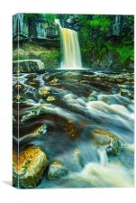 Thornton Force Waterfall, Ingleton, Yorkshire Dale, Canvas Print