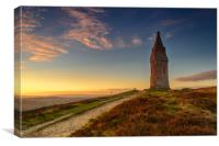 Hartshead Pike, Canvas Print