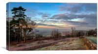 View from St martha's Hill, Canvas Print