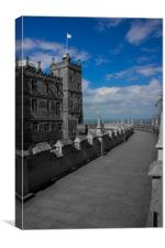 Bolsover Castle, Canvas Print