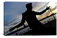 Billy Fury's Sunset, Canvas Print