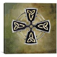 The Celtic Cross, Canvas Print